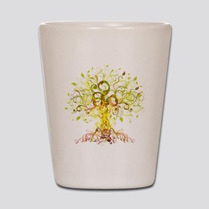 Tree Art Shot Glass