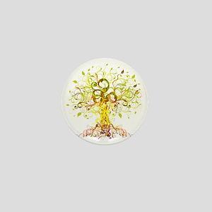 Tree Art Mini Button