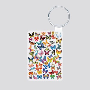 Butterflies Aluminum Photo Keychain
