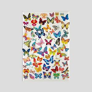 Butterflies Rectangle Magnet