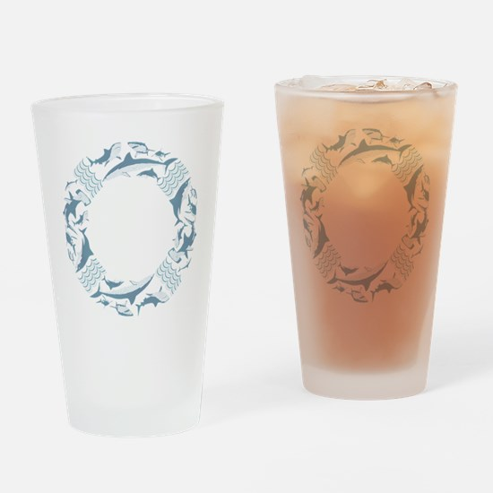 Save the Sharks LifeSaver Drinking Glass