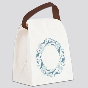 Save the Sharks LifeSaver Canvas Lunch Bag