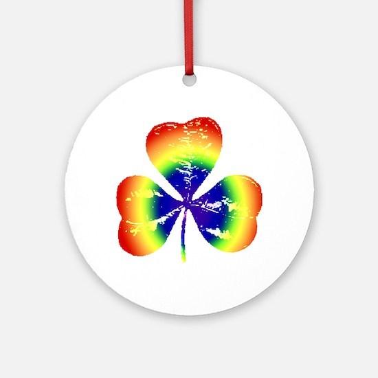 Irish Rainbow - Ornament (Round)