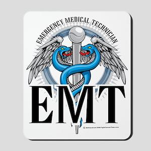 EMT-Caduceus-Blue Mousepad