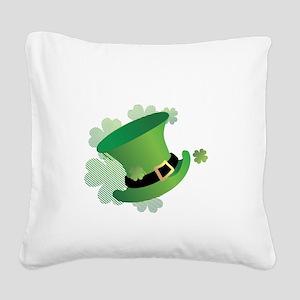 stpatrick Square Canvas Pillow