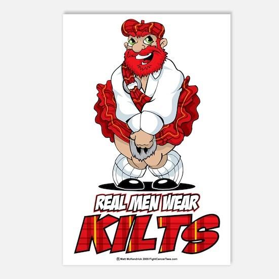 Real-Men-Wear-Kilts Postcards (Package of 8)