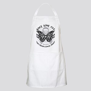 Brain-Cancer-Butterfly-Tribal Apron