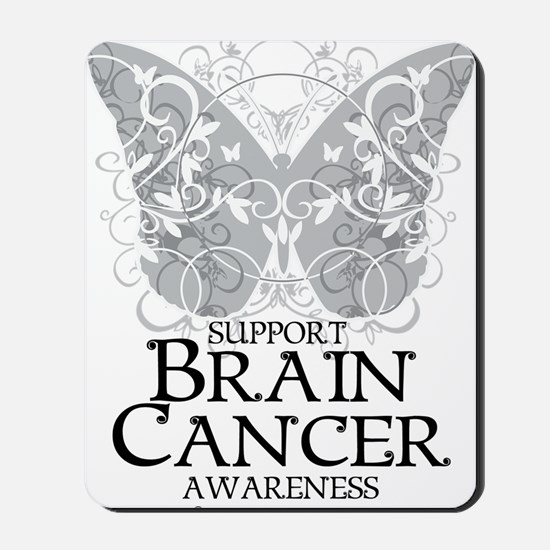 Brain-Cancer-Butterfly Mousepad