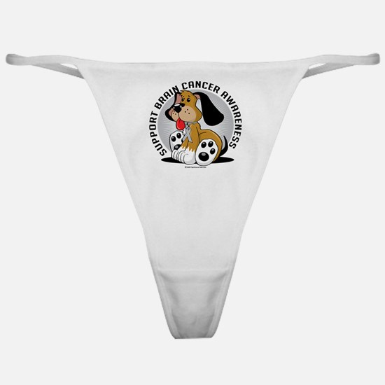 Brain-Cancer-Dog Classic Thong