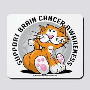 Brain-Cancer-Cat Mousepad