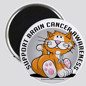 Brain-Cancer-Cat Magnet