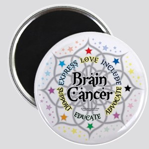 Brain-Cancer-Lotus Magnet