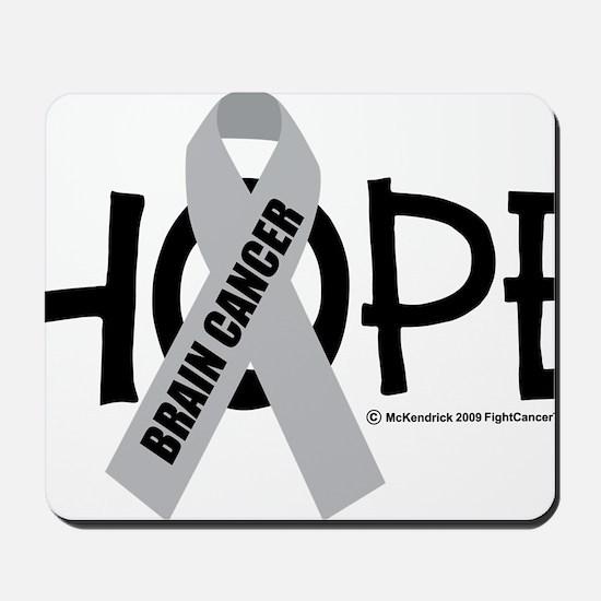 Brain-Cancer-Hope Mousepad