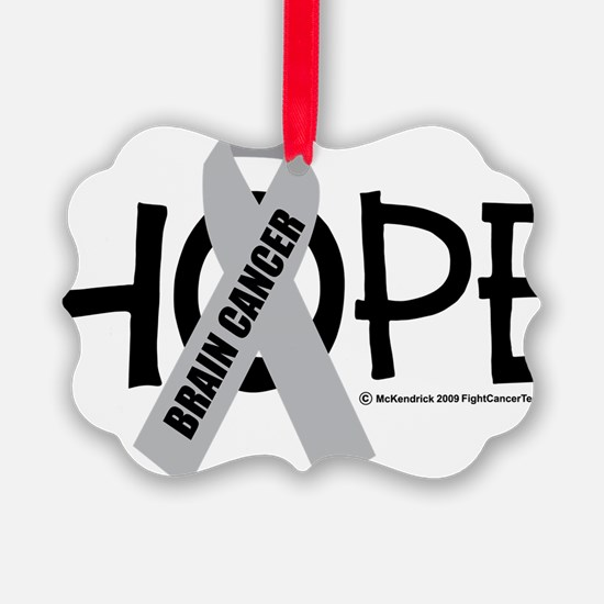 Brain-Cancer-Hope Ornament