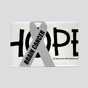 Brain-Cancer-Hope Rectangle Magnet