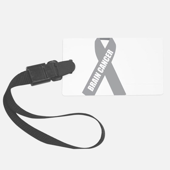 Brain-Cancer-Hope-blk Luggage Tag