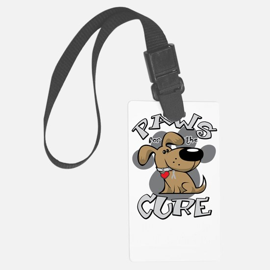 Paws-for-the-Cure-Dog-BRAIN-Canc Luggage Tag