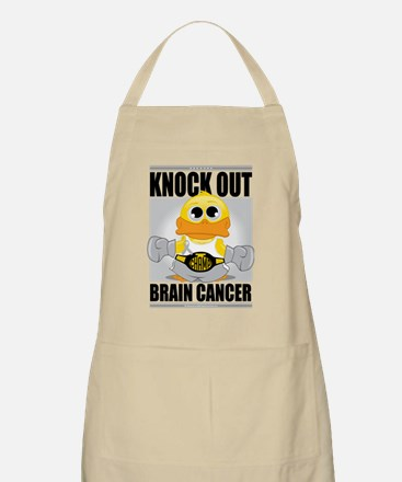 Knock-Out-Brain-Cancer Apron