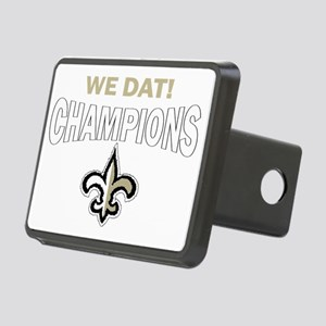 we dat champions Rectangular Hitch Cover