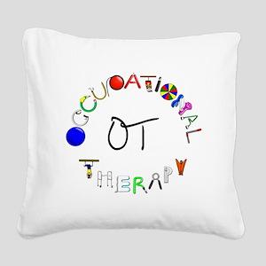 ot round Square Canvas Pillow