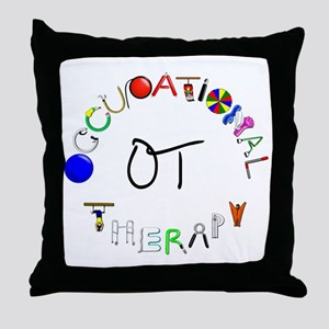 ot round Throw Pillow