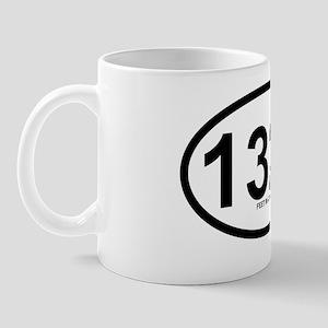 1320 feet in a quarter mile oval sticke Mug