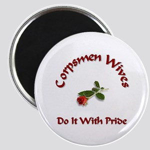 navy corpsmen wives Magnet