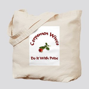navy corpsmen wives Tote Bag