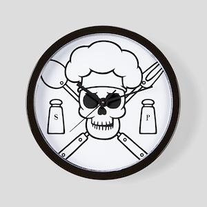 chef-pirate-T Wall Clock