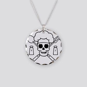 chef-pirate-T Necklace Circle Charm