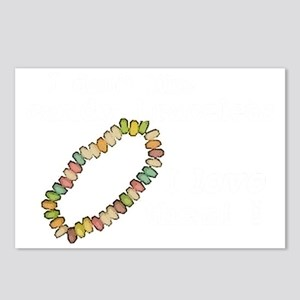 scrubs-candy-bracelets-dk Postcards (Package of 8)