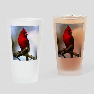 Cardinal Drinking Glass