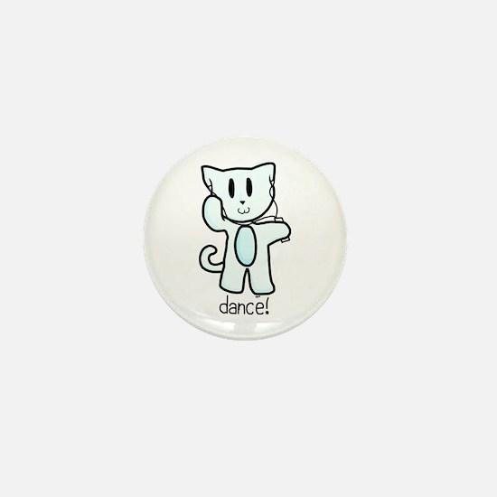 Musical Kitty Mini Button