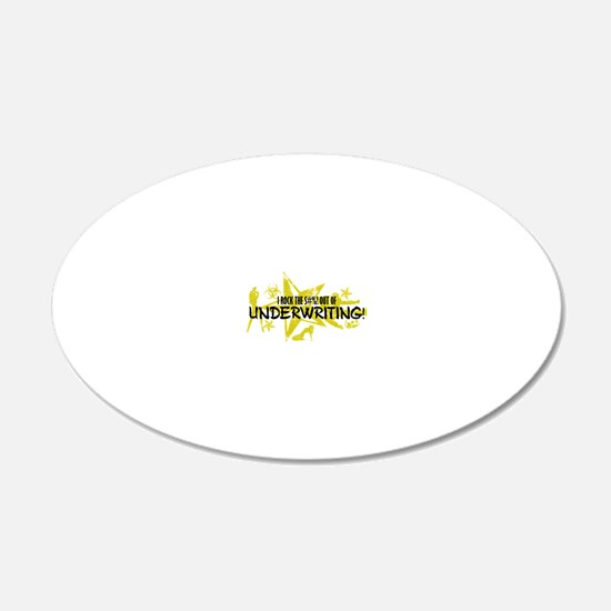 UNDERWRITING Wall Decal
