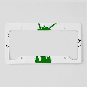 2-absinthegreenlady License Plate Holder