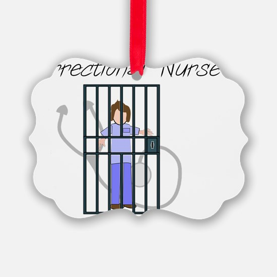 Correctional Nurse Ornament