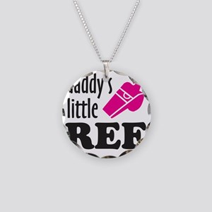 Ref daddys pink Necklace Circle Charm