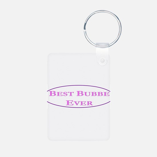 Best Bubbe Ever (Best Grandma in Yiddish) Keychain