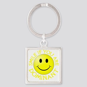 CP-T dom yellow Square Keychain