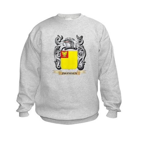 Jakobsen Coat of Arms - Family Crest Sweatshirt