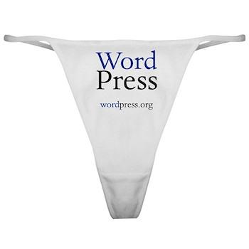 WordPress Thong