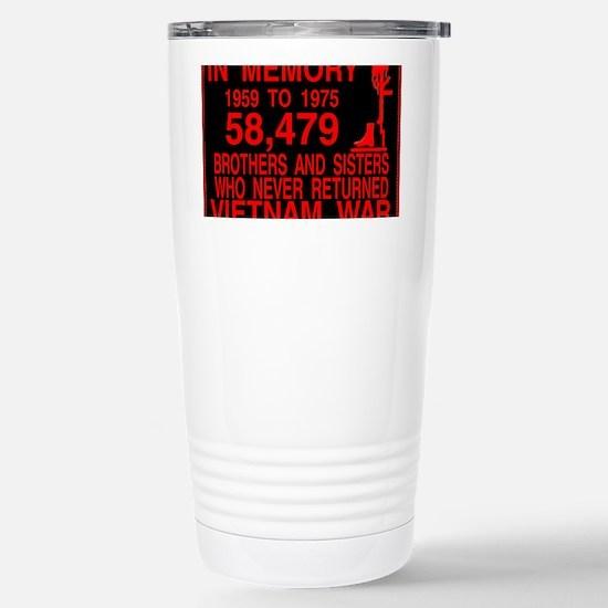 InMemory58479Red Stainless Steel Travel Mug