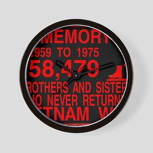 InMemory58479Red Wall Clock