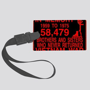 InMemory58479Red Large Luggage Tag