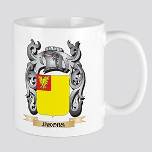 Jakobs Coat of Arms - Family Crest Mugs