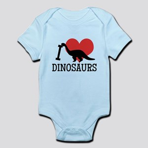 I Love Dinosaurs Body Suit