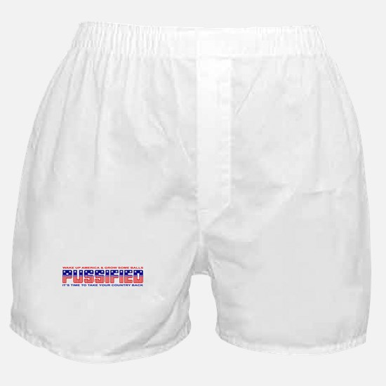 Pussified America Boxer Shorts