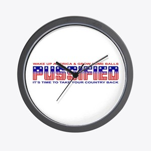 Pussified America Wall Clock