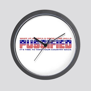 Pussified America Wall Clock