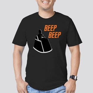 star-trek_beep-beep_da Men's Fitted T-Shirt (dark)
